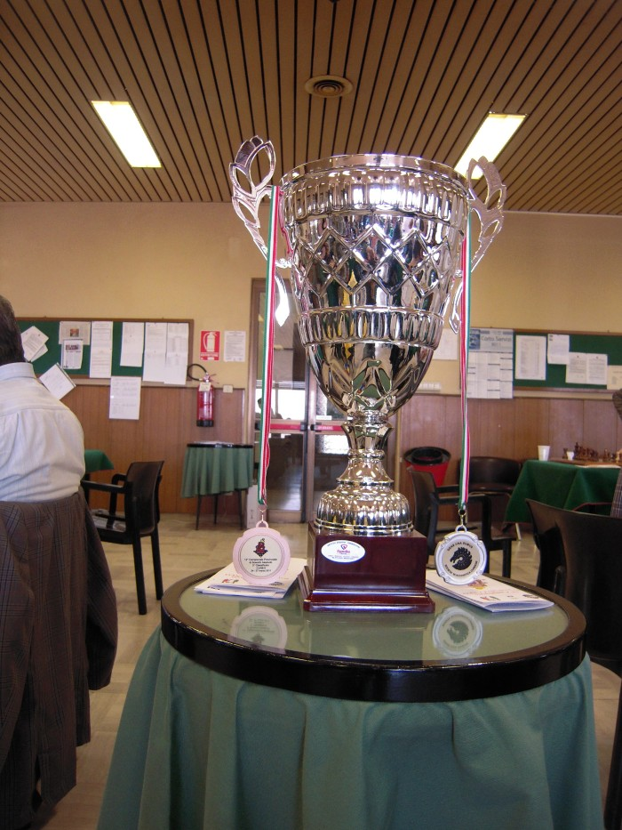 La coppadel 12° campionato Assoluto italiano