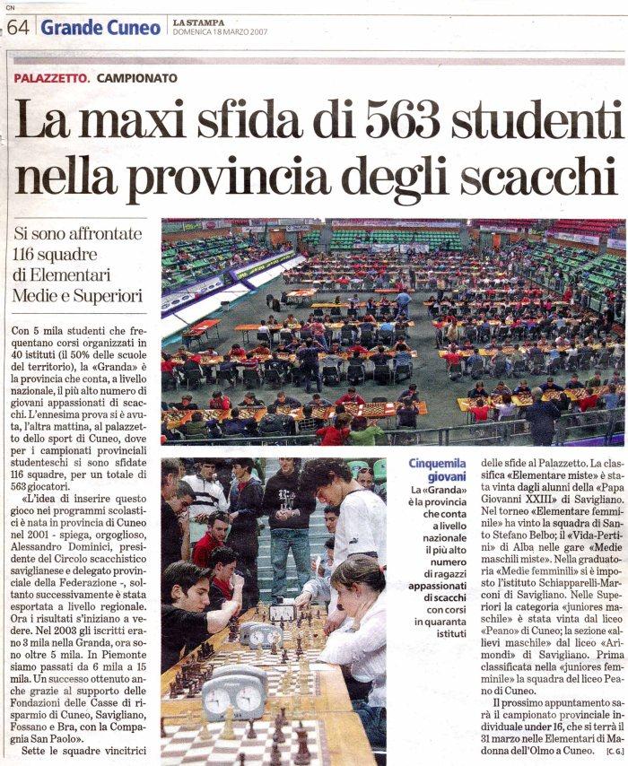 La Stampa 18_03_2007