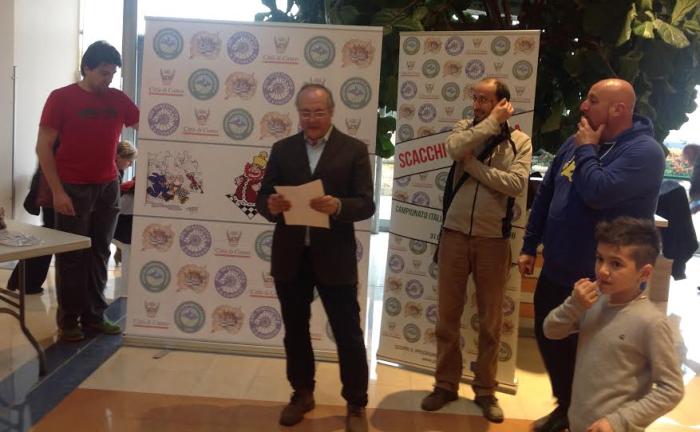 premiazione campionato provinciale under 16 2016