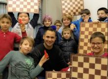 doposcuola scacchi al Garelli (IV anno) istruttore Babilonia 2016/2017